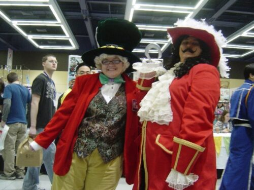 Mad Hatter and Captain Hook!