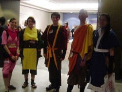 There were a TON of Avatar cosplayers at Sakura-Con. I imagine Korra has something to do with it.