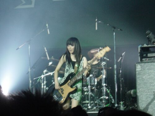 Nohana, the bassist of Stereopony.