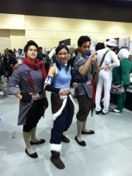 I think the Mako and Bolin cosplayers should switch characters, but oh well.