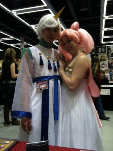 Pegasus and Chibiusa