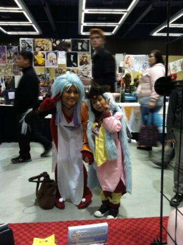 Little kids are good for two things: singing in choirs and being adorable in chibi cosplay.
