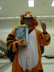 Tony the Tiger!