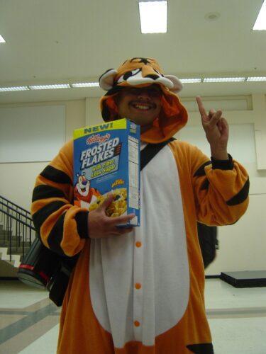 Tony the Tiger!