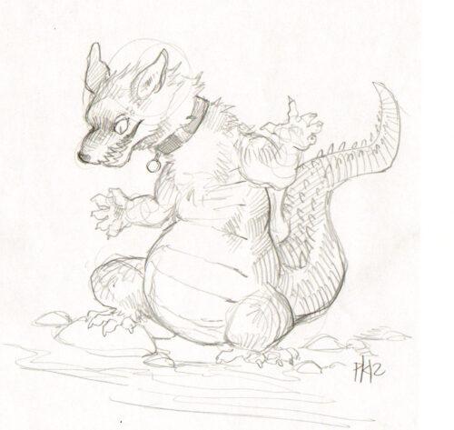 My character Jackie, by PurpleKecleon