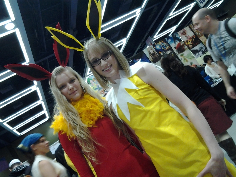Flareon and Jolteon.