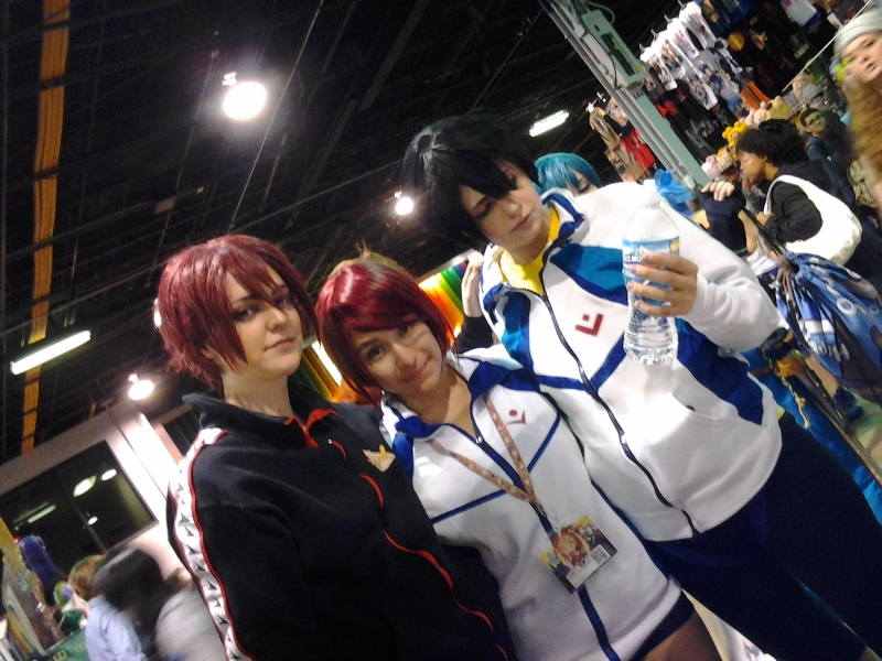 Rin, Gou, and a perfect Haru.