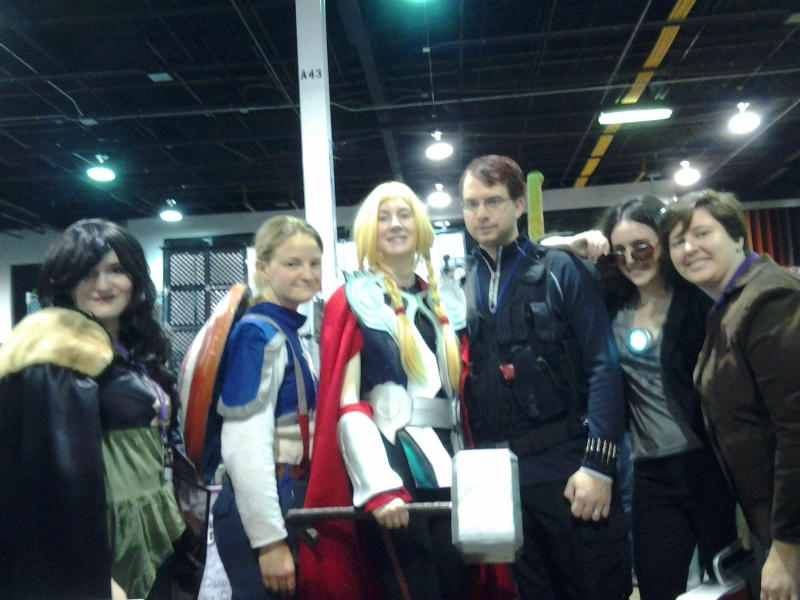 Genderbent Avengers group!