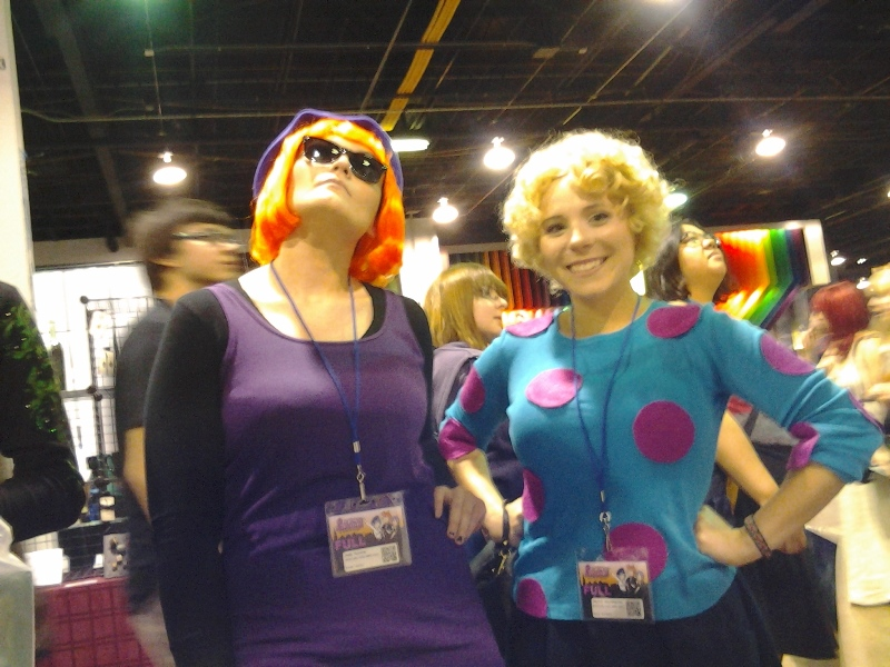 Judy Funni and Patti Mayonnaise!