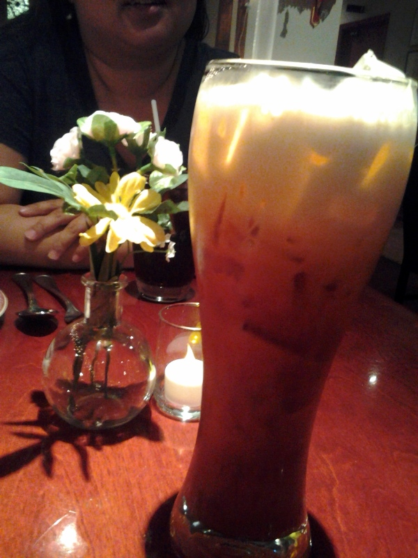 What's the point of going to a Thai place if you don't get Thai iced tea.