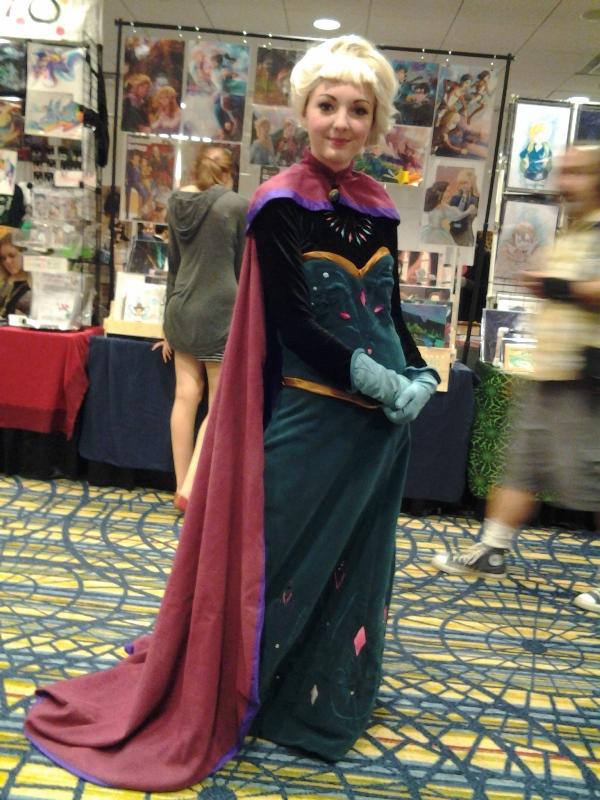 Coronation gown Elsa! As rare as a shiny Pokemon!