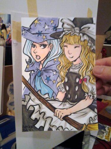 Trixie gijinka and Marisa!