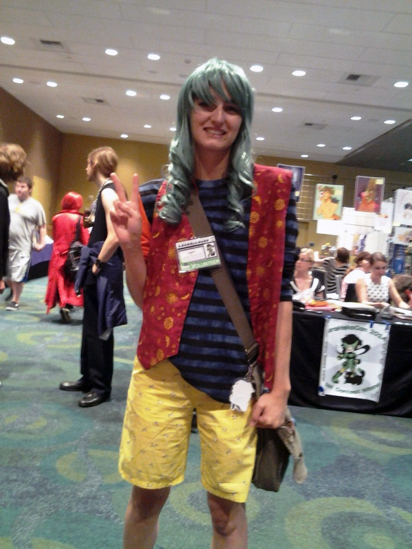This Makishima bought my T2 zine and was also the only Yowapeda cosplayer at the entire con. ;3;
