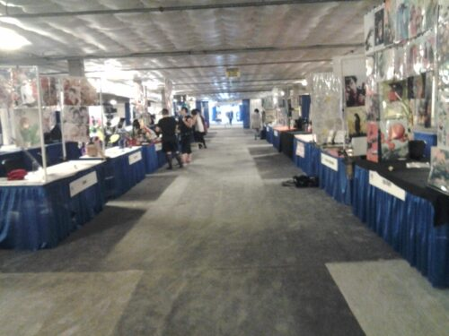 Kumoricon Artist Alley.