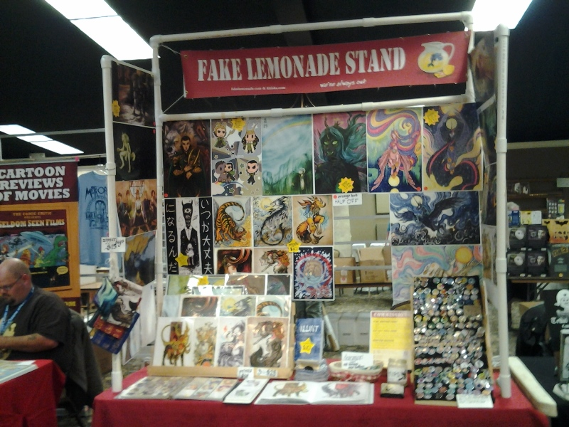 Fake Lemonade Stand @ Bellingham Comicon.