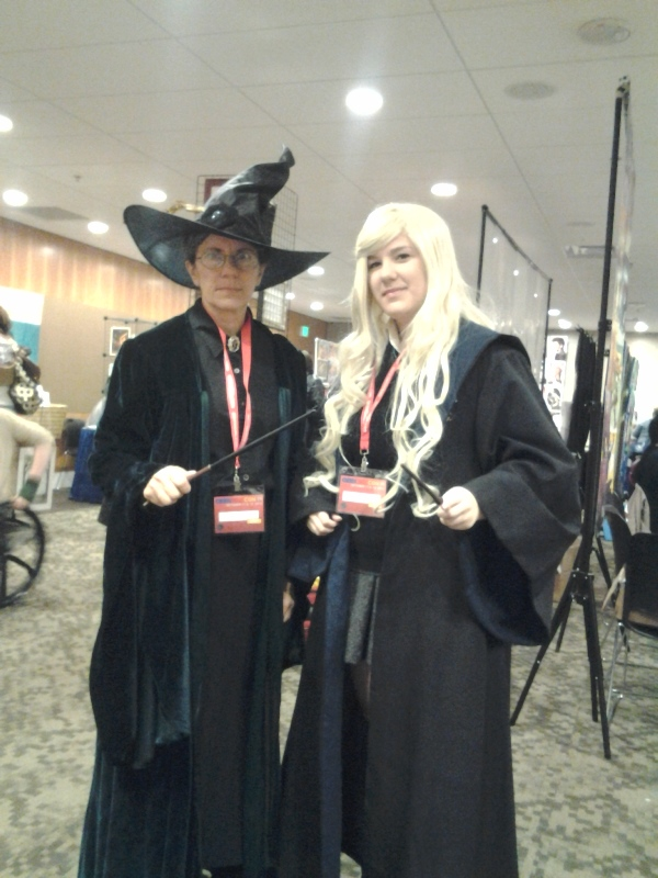 Minerva McGonagall and Luna Lovegood~.