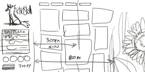 Kiriska.com v2 sketch sketch
