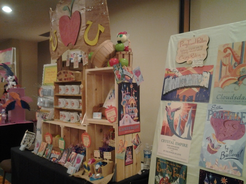 The Apple Family's Booth