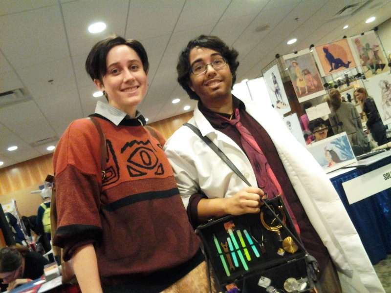 Cecil and Carlos. Cosplayers are RE and AJ of Kisney House.