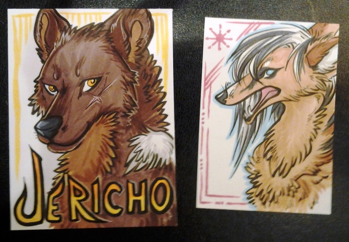 Small badge and an ACEO