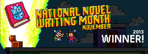 NaNoWriMo 2013 Winner!