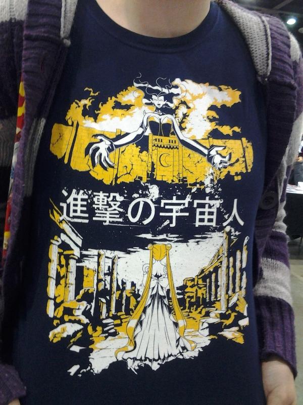 Shingeki no Uchuujin.