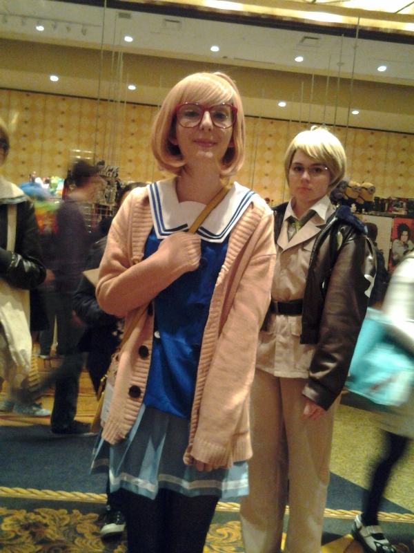 This Mirai was the only KnK cosplayer I saw all weekend.