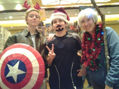 Steve, Tony, and the newest Avenger, Jack Frost?