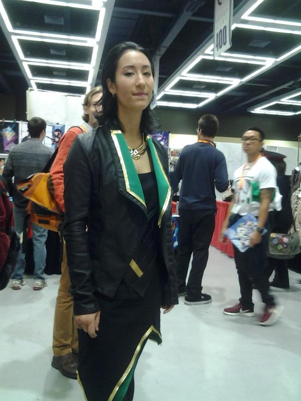 A very classy fem!Loki.