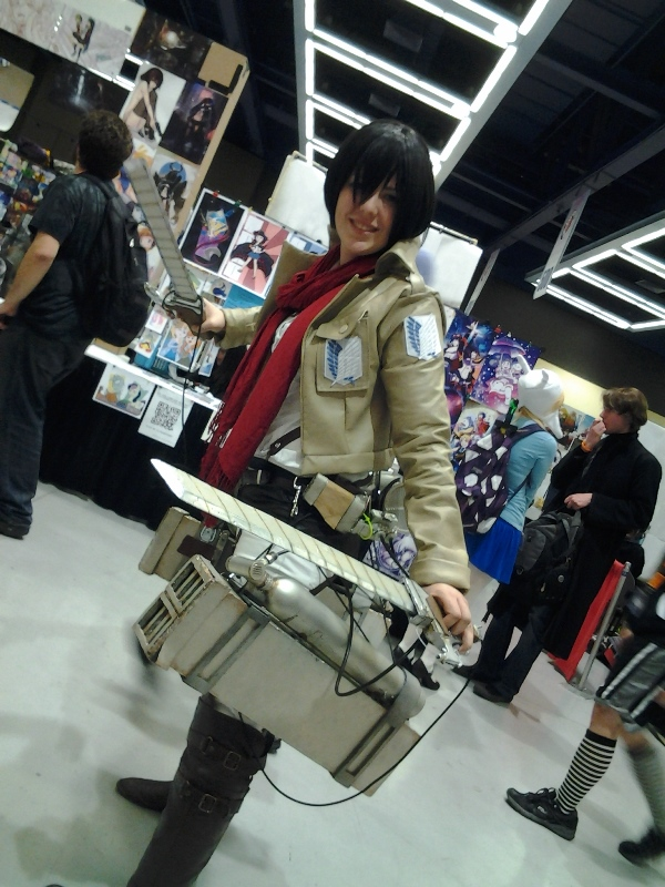 The most impressive Mikasa.