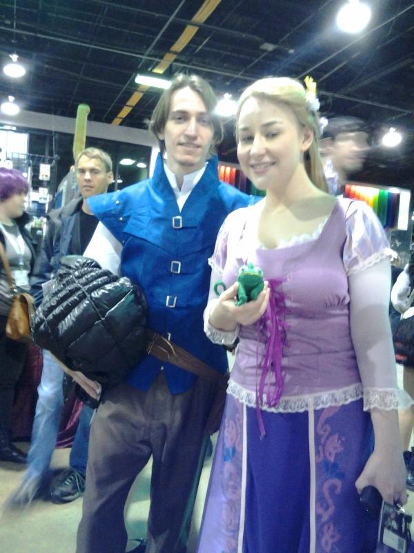 Eugune and Rapunzel.
