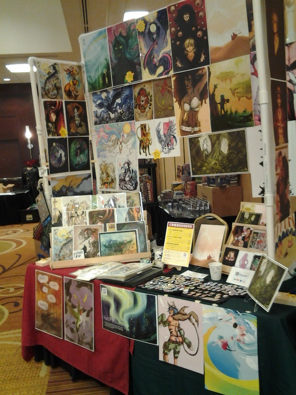 Xib and my DF table. No Fake Lemonade banner to save on space!