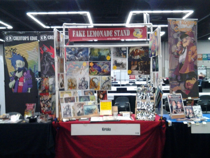Fake Lemonade Stand @ Rose City Comic Con 2014.