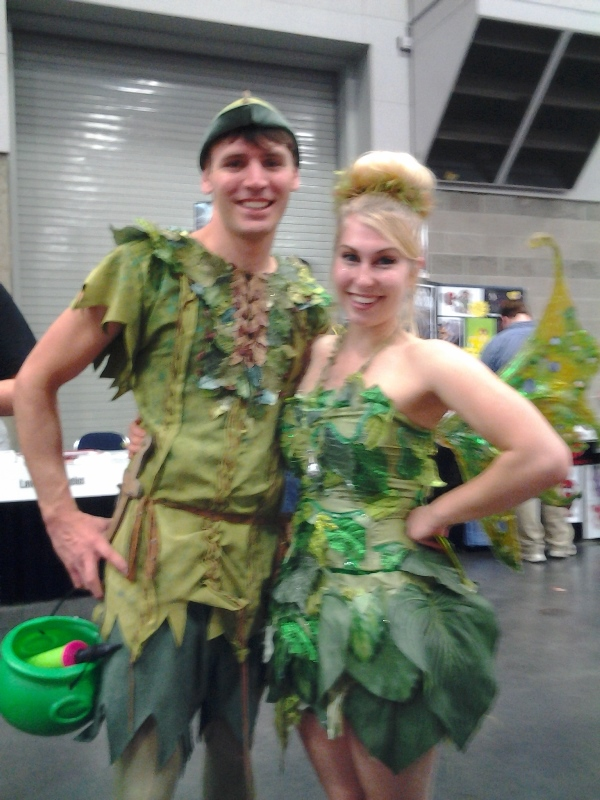 Peter Pan and Tinkerbell!