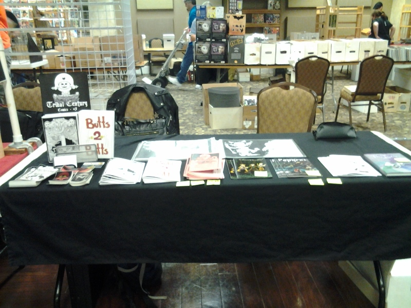 Laura/Jer's table at BCC.