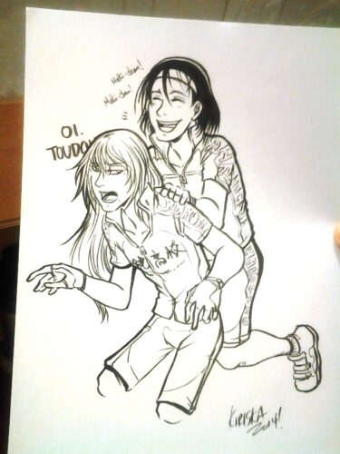 Toumaki trade with AJ