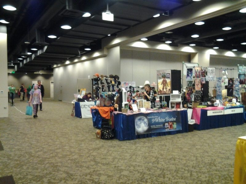GGC Exhibit's Hall. Look at all this space!