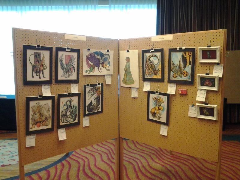 Art Show panels.