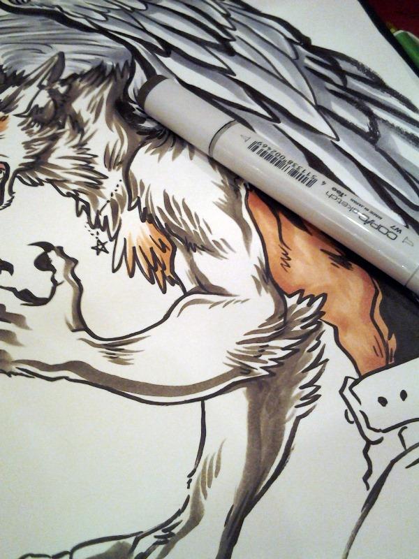 Coloring fur~.