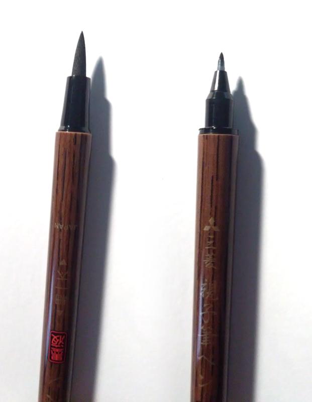 Review Uni Mitsubishi Double Sided Brush Pen Kiriska Com