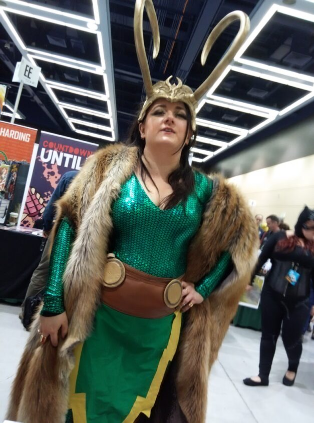 I didn't take a lot of photos at ECCC, but when I did, half of them were still Loki...