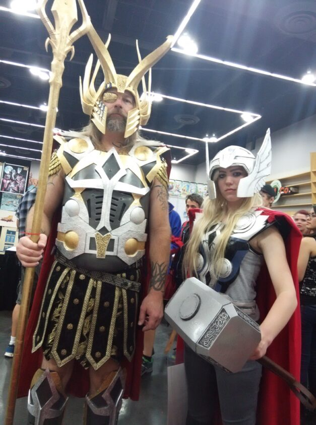 An amazing father/daughter Odin and Thor from RCCC.