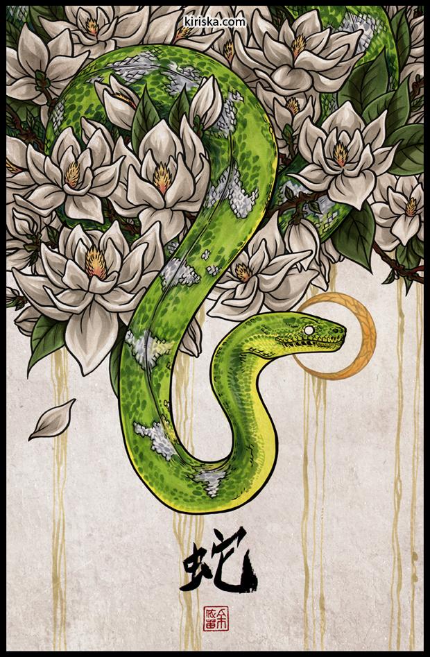 Year of the Snake by Kiriska