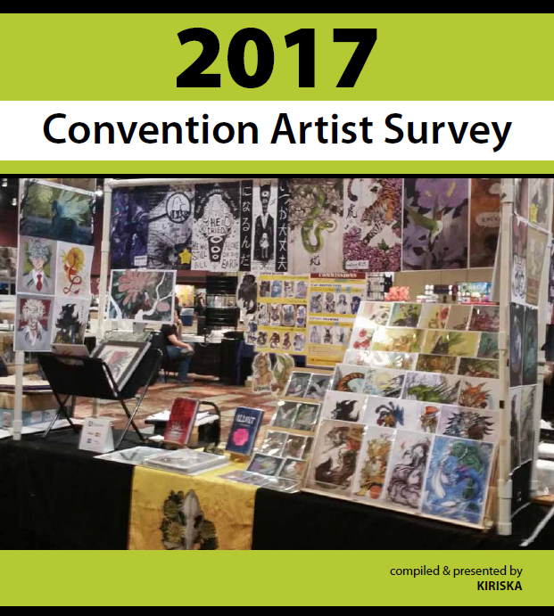 2017 Convention Artist Survey Report
