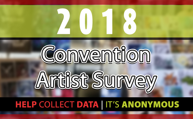 2018 Convention Artist Survey