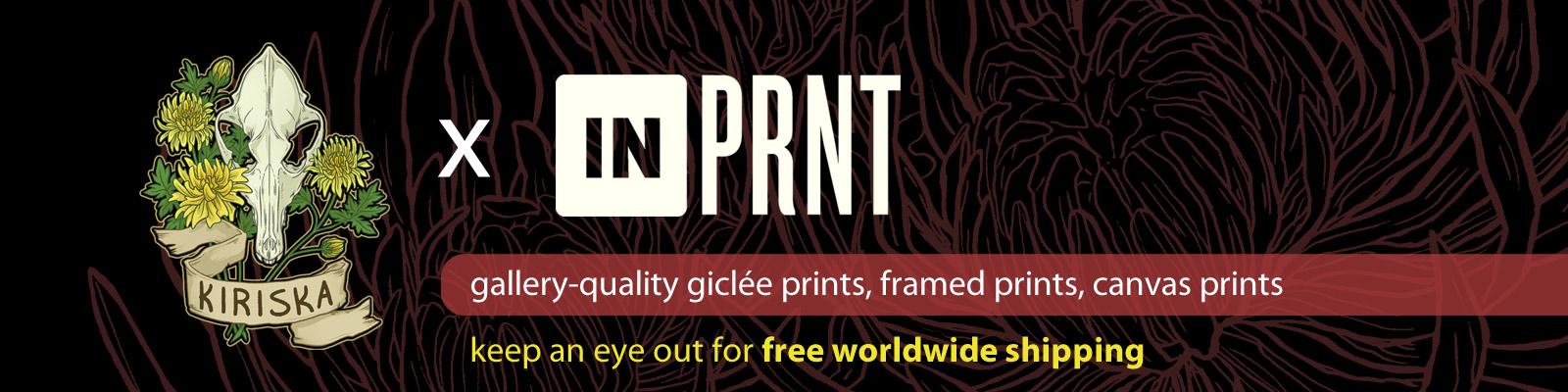 Print on demand via INPRNT