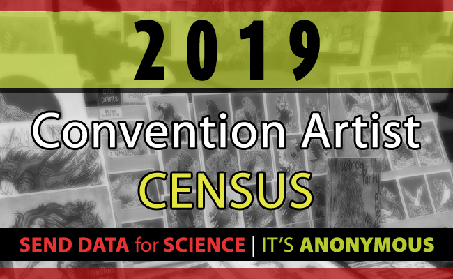 2019 Convention Artist Census