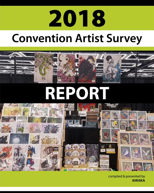 2018 Convention Artist Survey Report