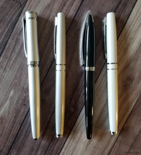 Daiso Rosso Bianco fountain pens