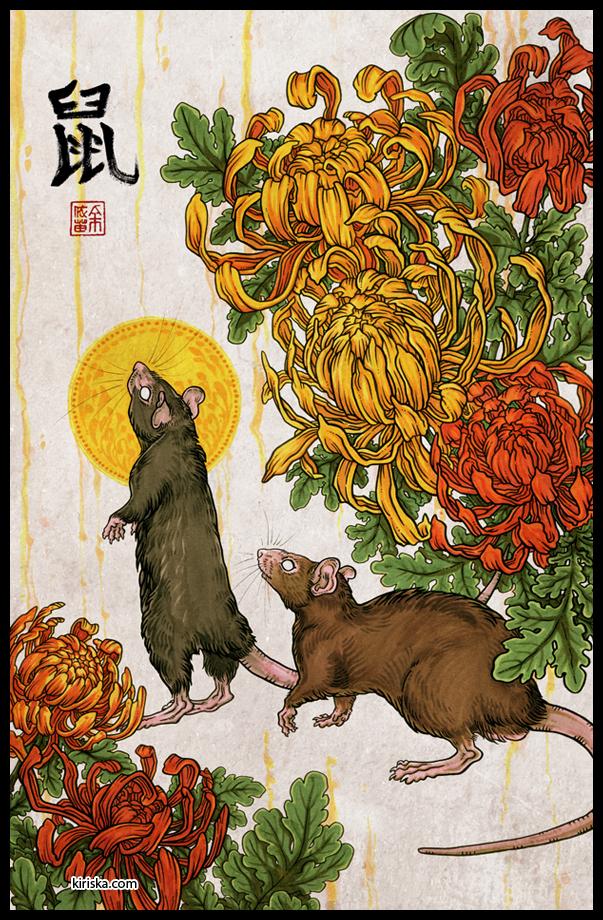 Year of the Rat by Kiriska